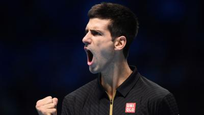 Novak Djokovic Pumped Wallpaper 64980