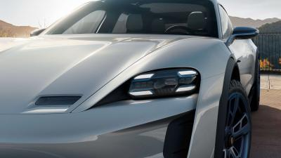 Porsche Mission E Headlight Wallpaper 63418