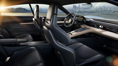 Porsche Mission E Interior Wallpaper 63421
