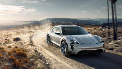 Porsche Mission E Wallpaper Background HD 63420