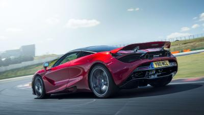 Red McLaren 720s Rolling Shot Wallpaper 66177