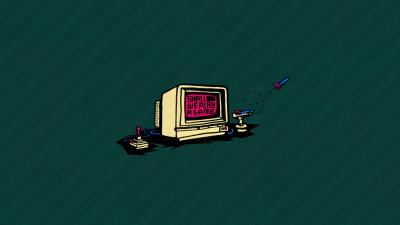 Retro Computer Gaming Wallpaper 64256
