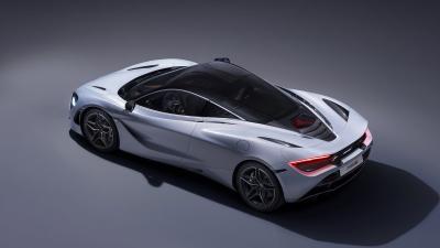White McLaren 720s Wallpaper 66182