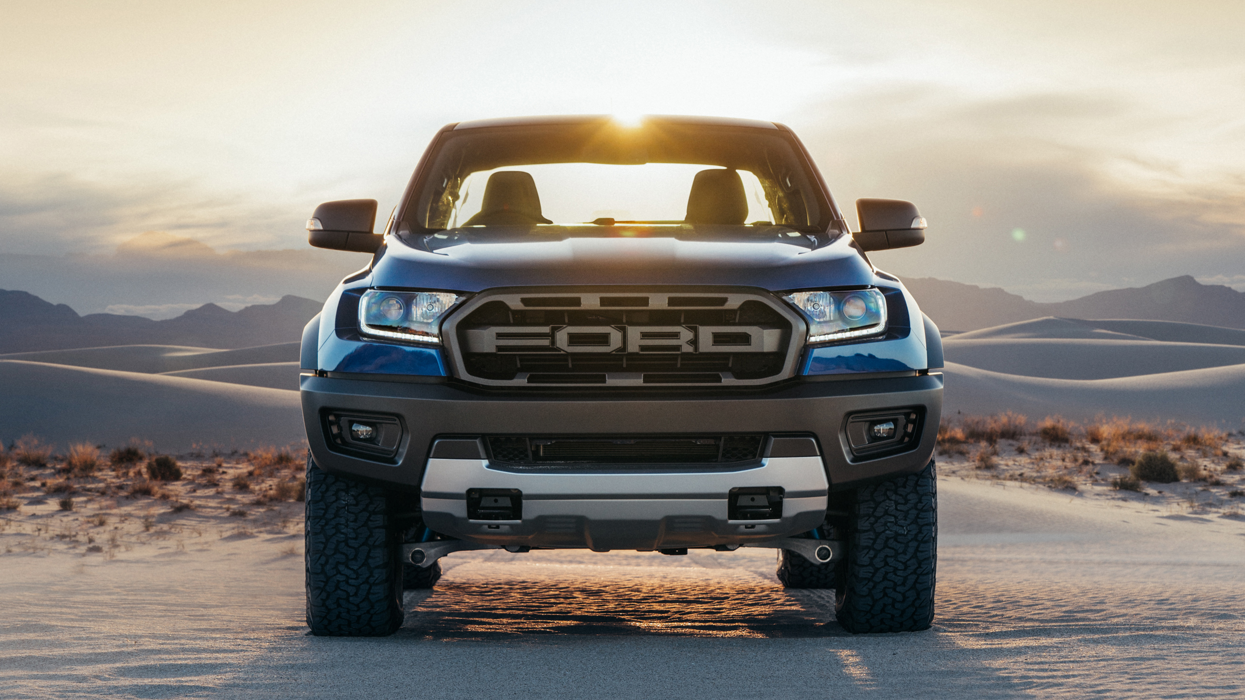 Ford Raptor Front View Hd Wallpaper 64937 2560x1440px