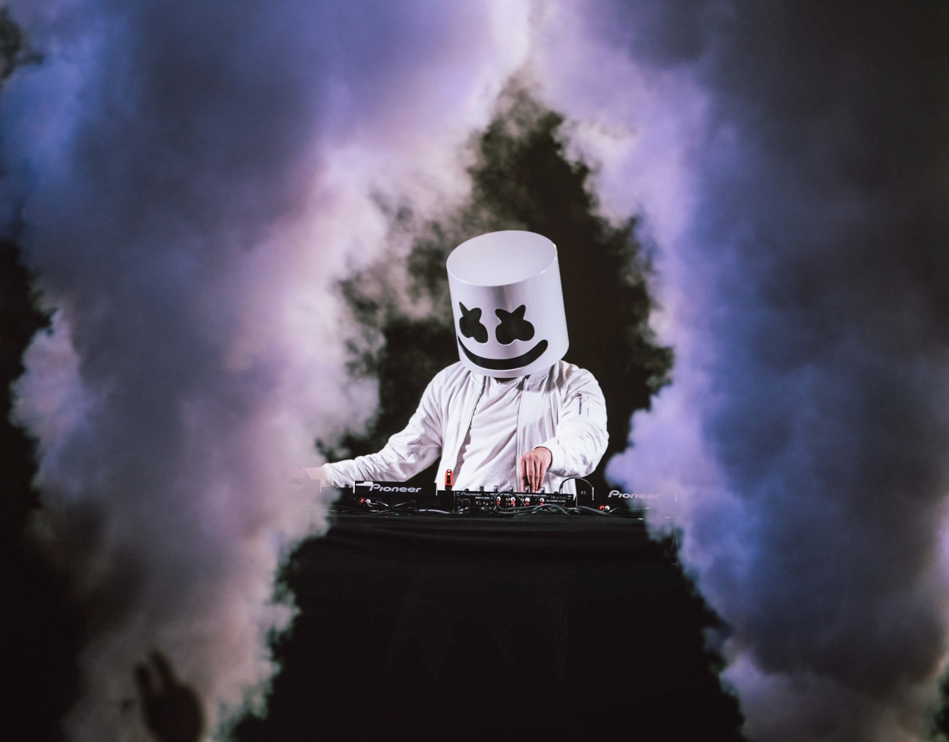 marshmello performing live hd wallpaper 64953