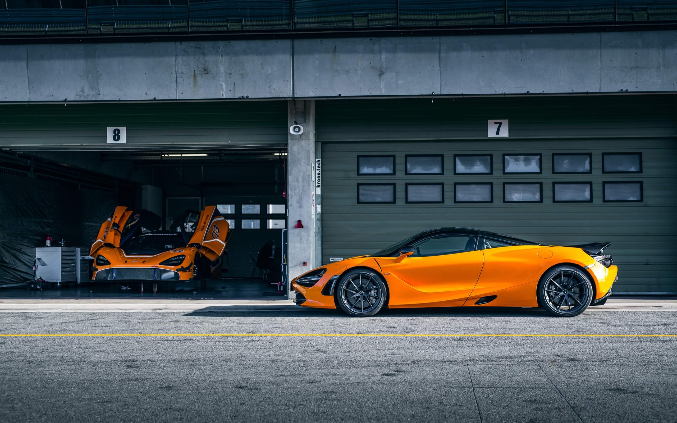 orange mclaren 720s car hd wallpaper 66191 68444 hd wallpapers