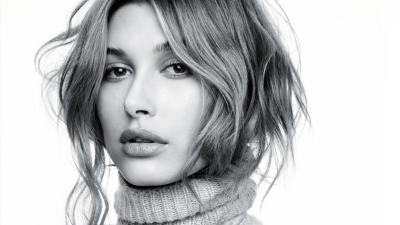 Hailey Baldwin Face Wallpaper 64629