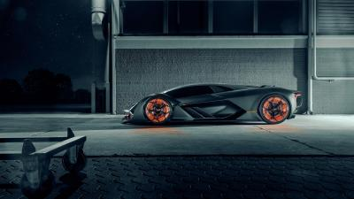 Lamborghini Terzo Millennio Car Side View Wallpaper 66208