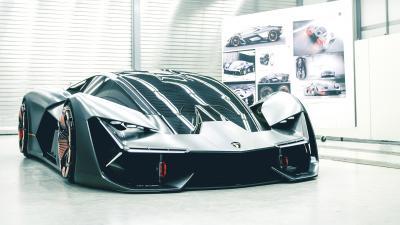 Lamborghini Terzo Millennio Front View Wallpaper 66207