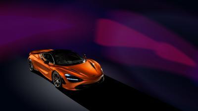 McLaren 720s Background Wallpaper 66188