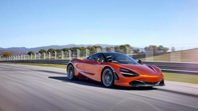 McLaren 720s Car Rolling Shot Wallpaper 66193