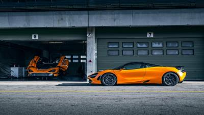 Orange McLaren 720s Car HD Wallpaper 66191