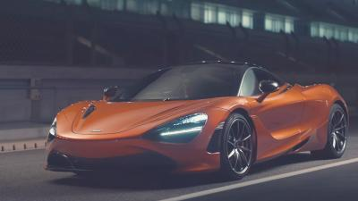 Orange McLaren 720s Wallpaper 66202