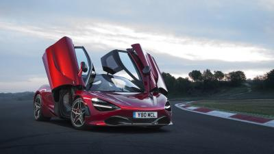 Red McLaren 720s Car Wallpaper 66184