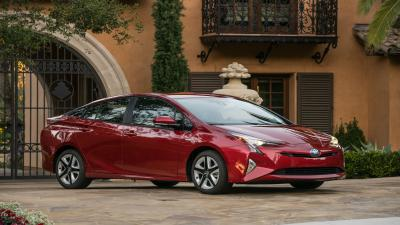 Red Toyota Prius HD Pictures Wallpaper 64946