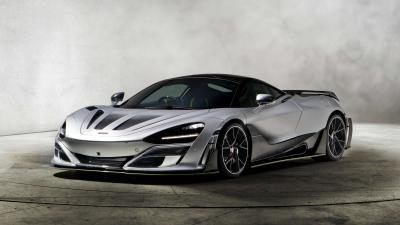 Silver McLaren 720s Wallpaper 66192