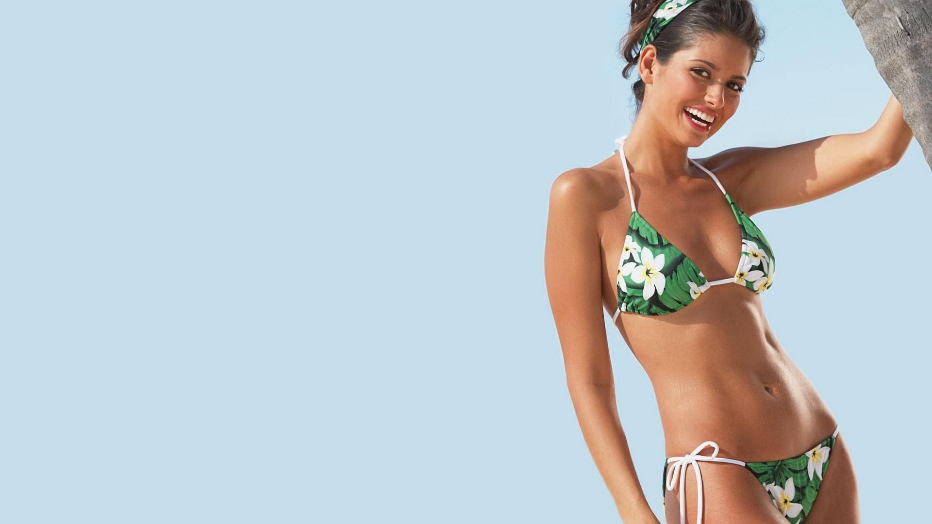 bikini woman desktop wallpaper 63459 1920x1080 px
