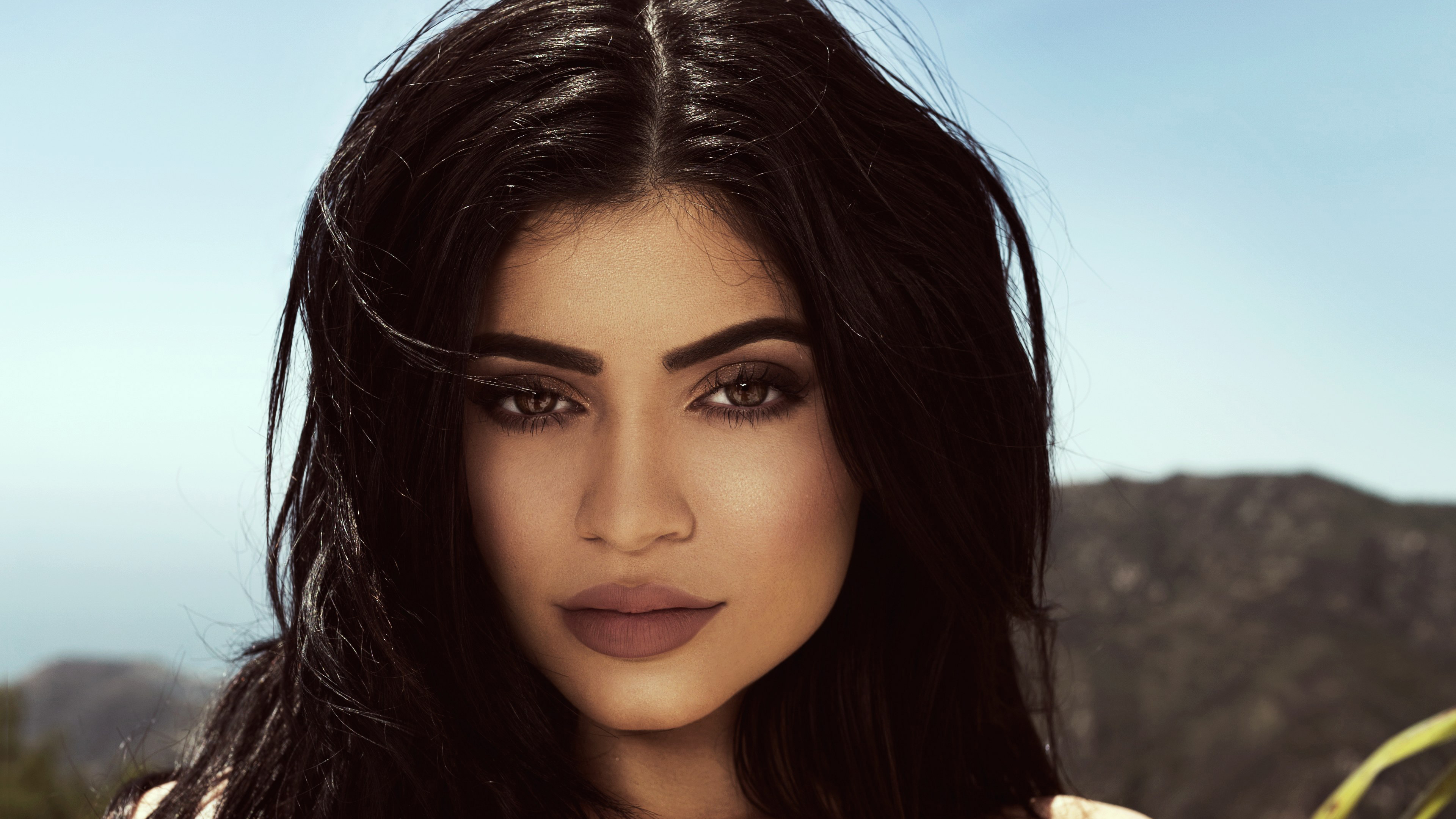 kylie jenner face makeup widescreen wallpaper 62547