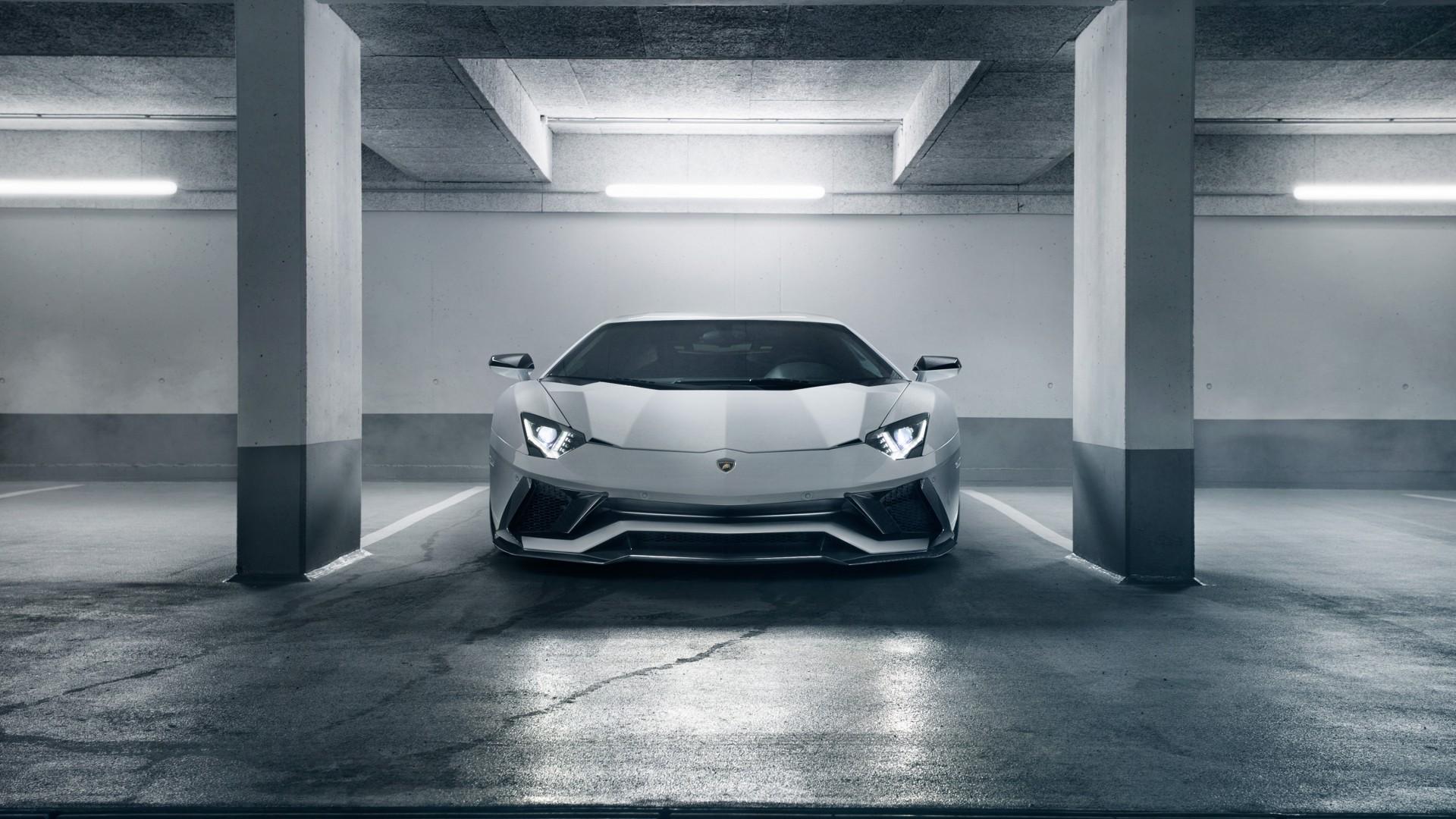 Lamborghini Aventador Garage Wallpaper 66274