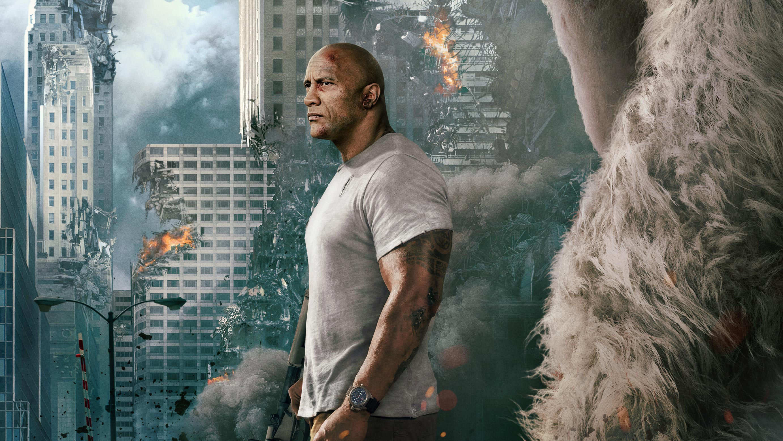 rampage 2018 movie wallpaper 63327