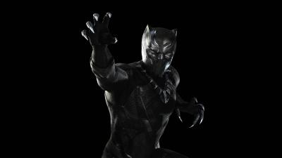 Black Panther Widescreen Wallpaper 62791
