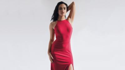Camila Mendes Red Dress Wallpaper 63323