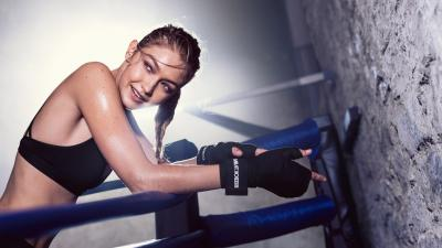 Gigi Hadid Working Out Wallpaper Background 62774