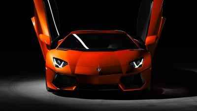 Lamborghini Aventador Doors Open Wallpaper 66277