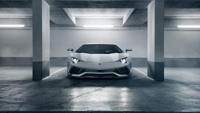 Lamborghini Aventador Garage Wallpaper 66274