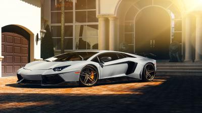 Lamborghini Aventador HD Wallpaper 66271