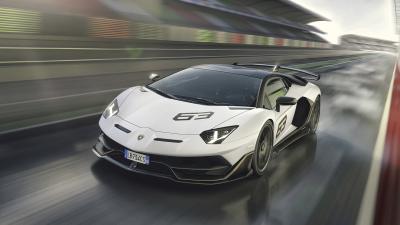 Lamborghini Aventador Rolling Shot Wallpaper 66266
