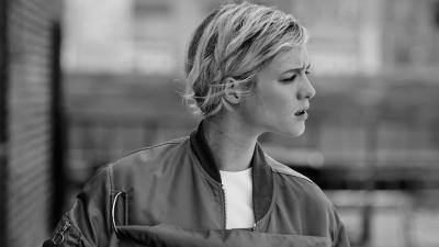 Monochrome Mackenzie Davis Wallpaper 63972