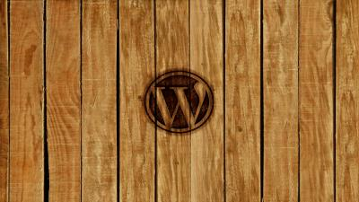 Wordpress Wood Logo Wallpaper 62780