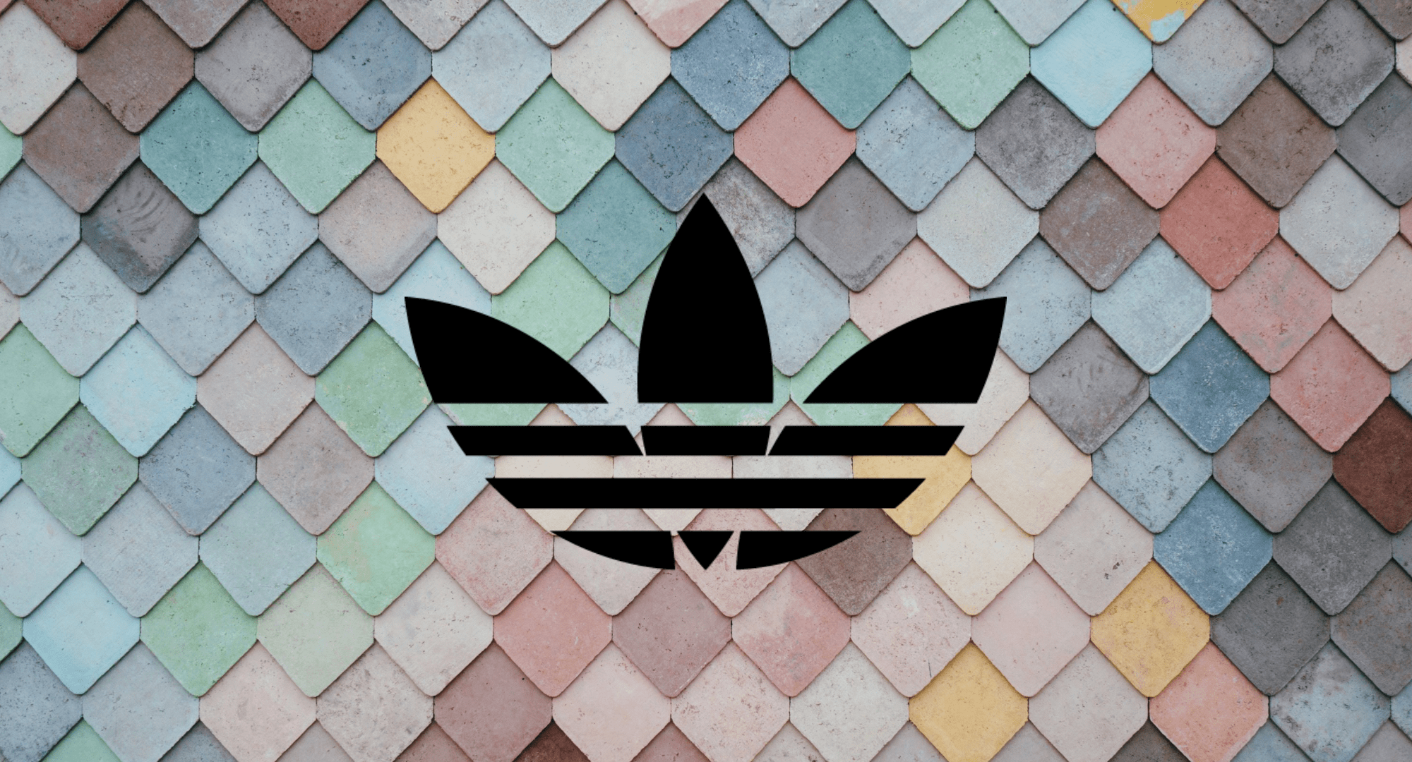 adidas logo pastel wallpaper background 64898