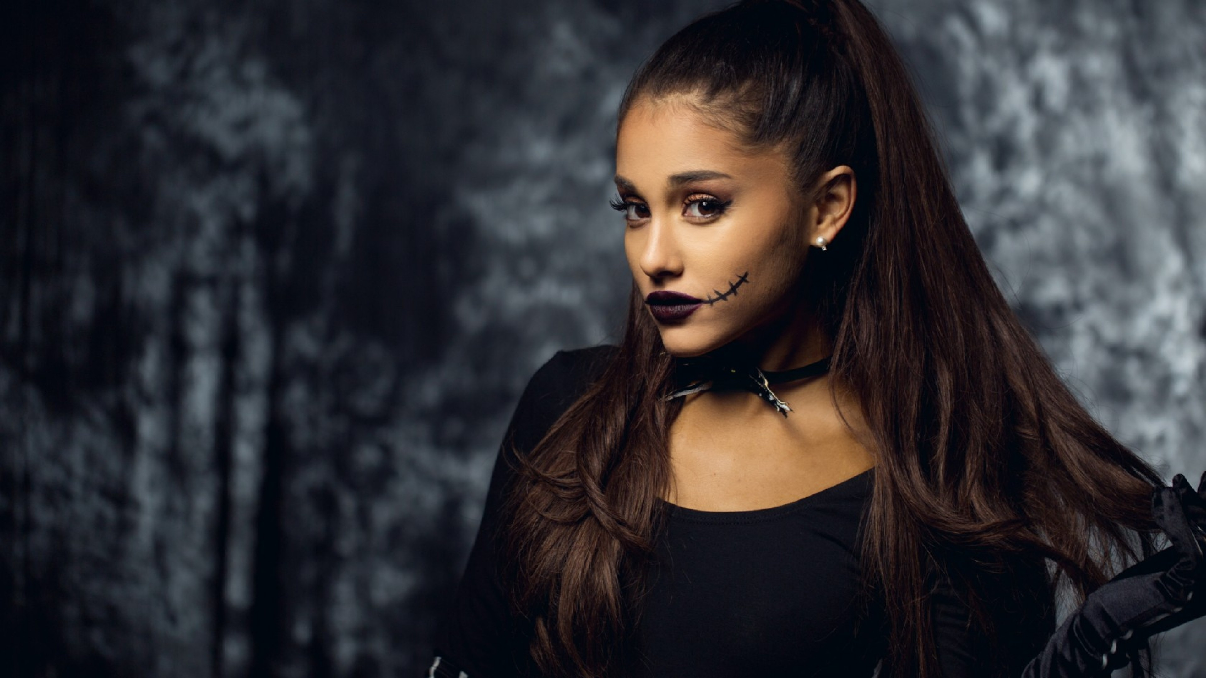 ariana grande makeup wallpaper background 63379