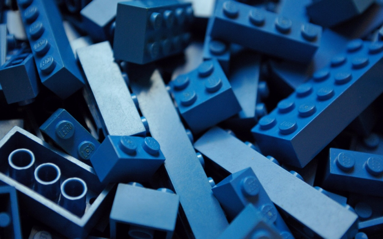 blue legos wallpaper pictures 64348