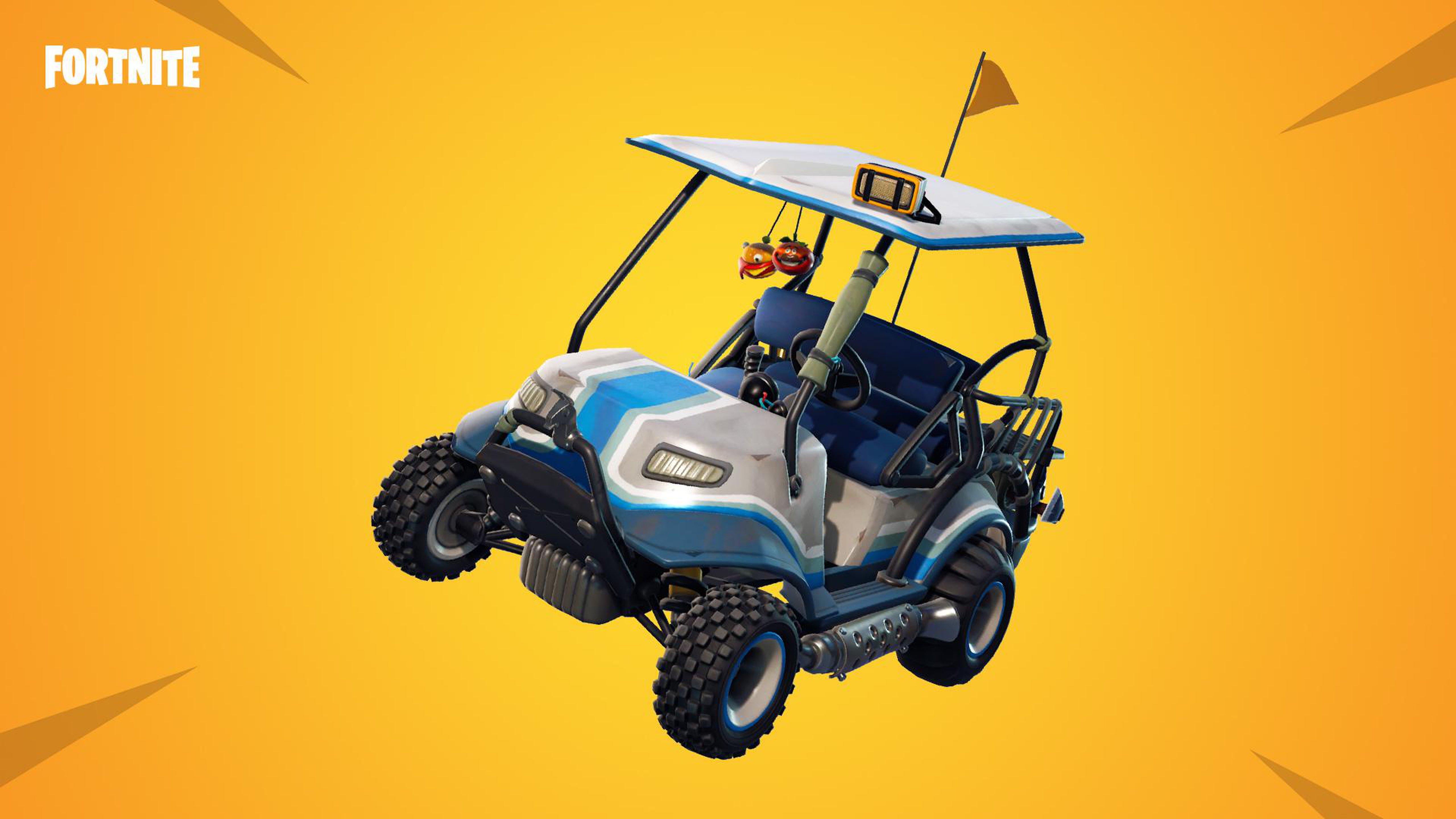fortnite all terrain kart widescreen wallpaper background 64420