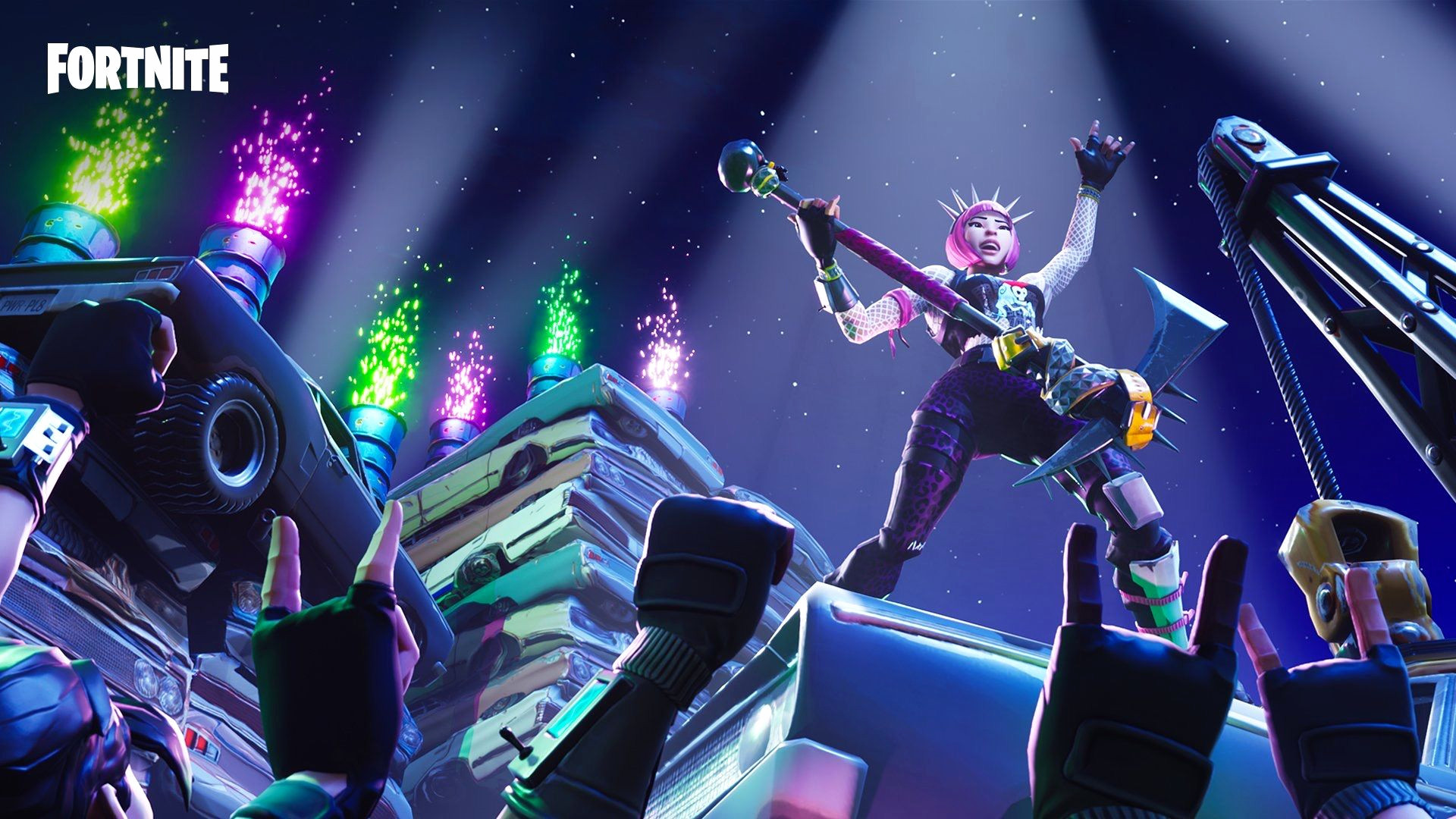 fortnite game wallpaper background hd 64421