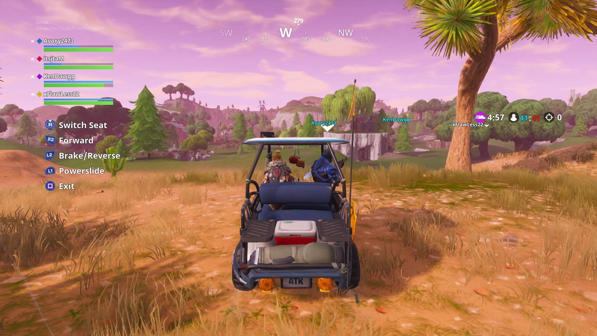 fortnite golf cart wallpaper 64307