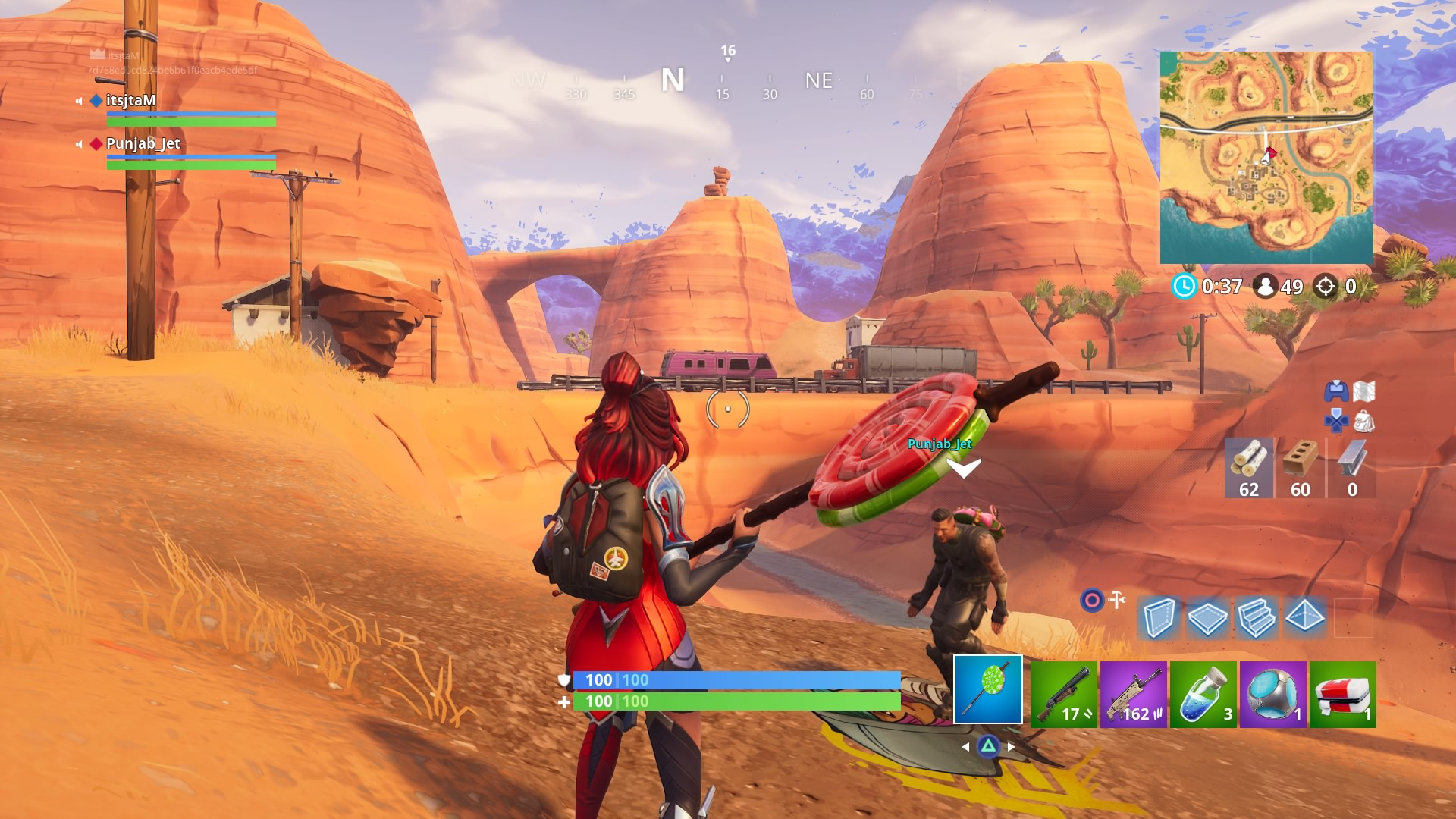 fortnite lollipopper harvesting tool wallpaper 64388