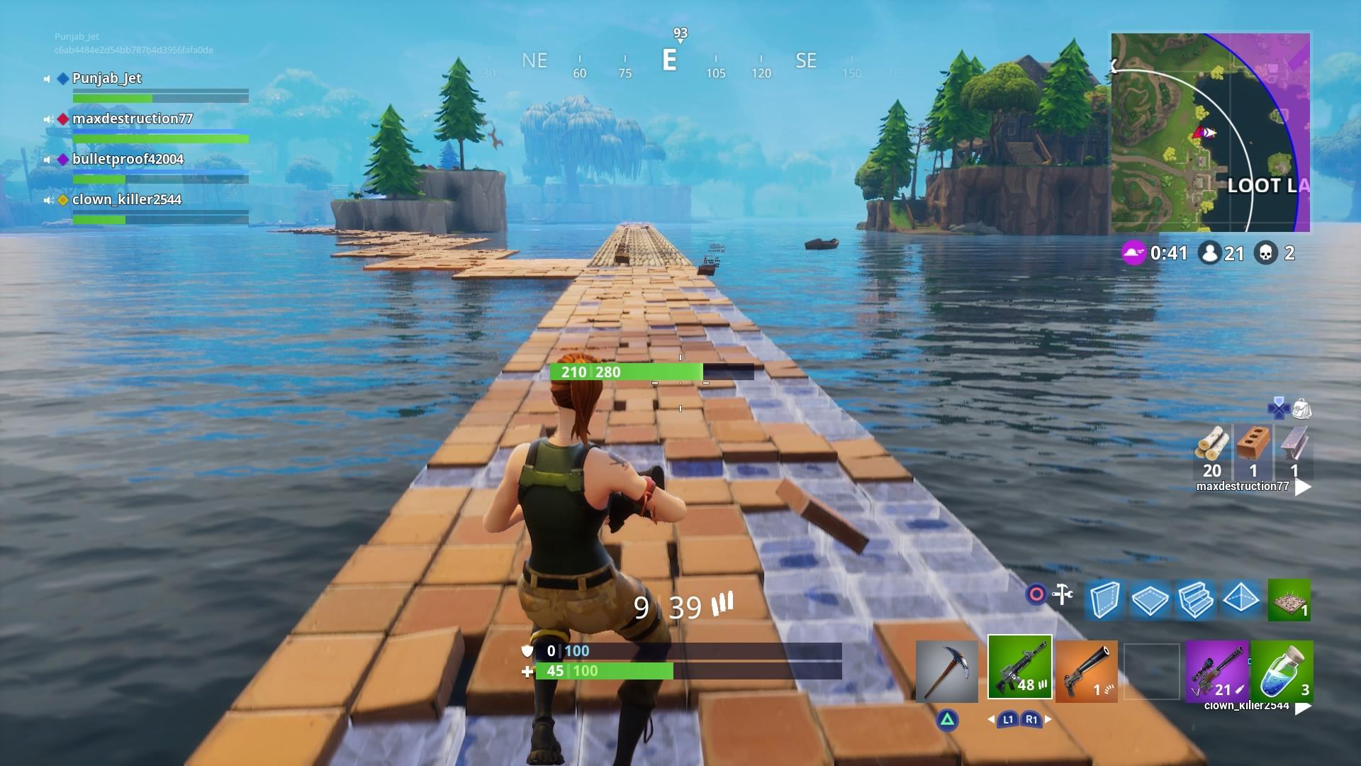 fortnite loot lake wallpaper 63028