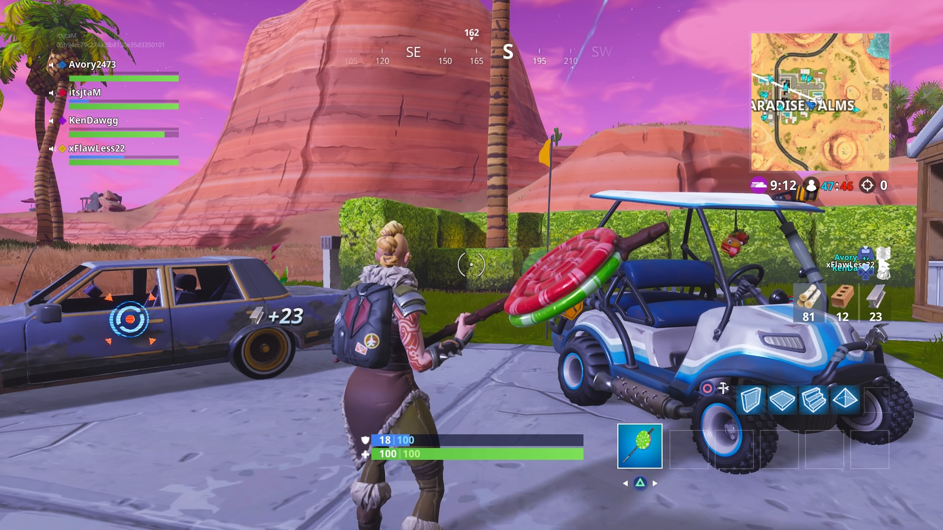 fortnite season 5 golf cart vehicle wallpaper background 64302