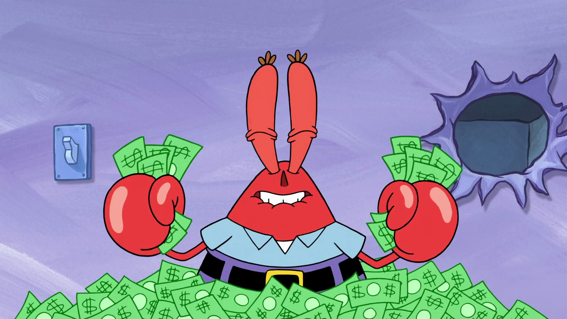mr krabs desktop wallpaper 63041