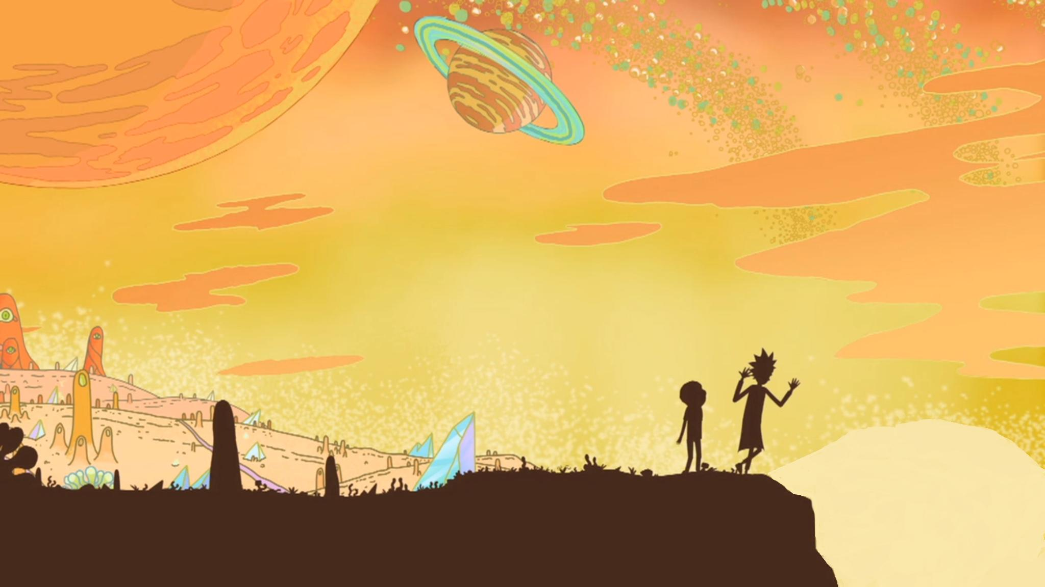 rick and morty show wallpaper 63908