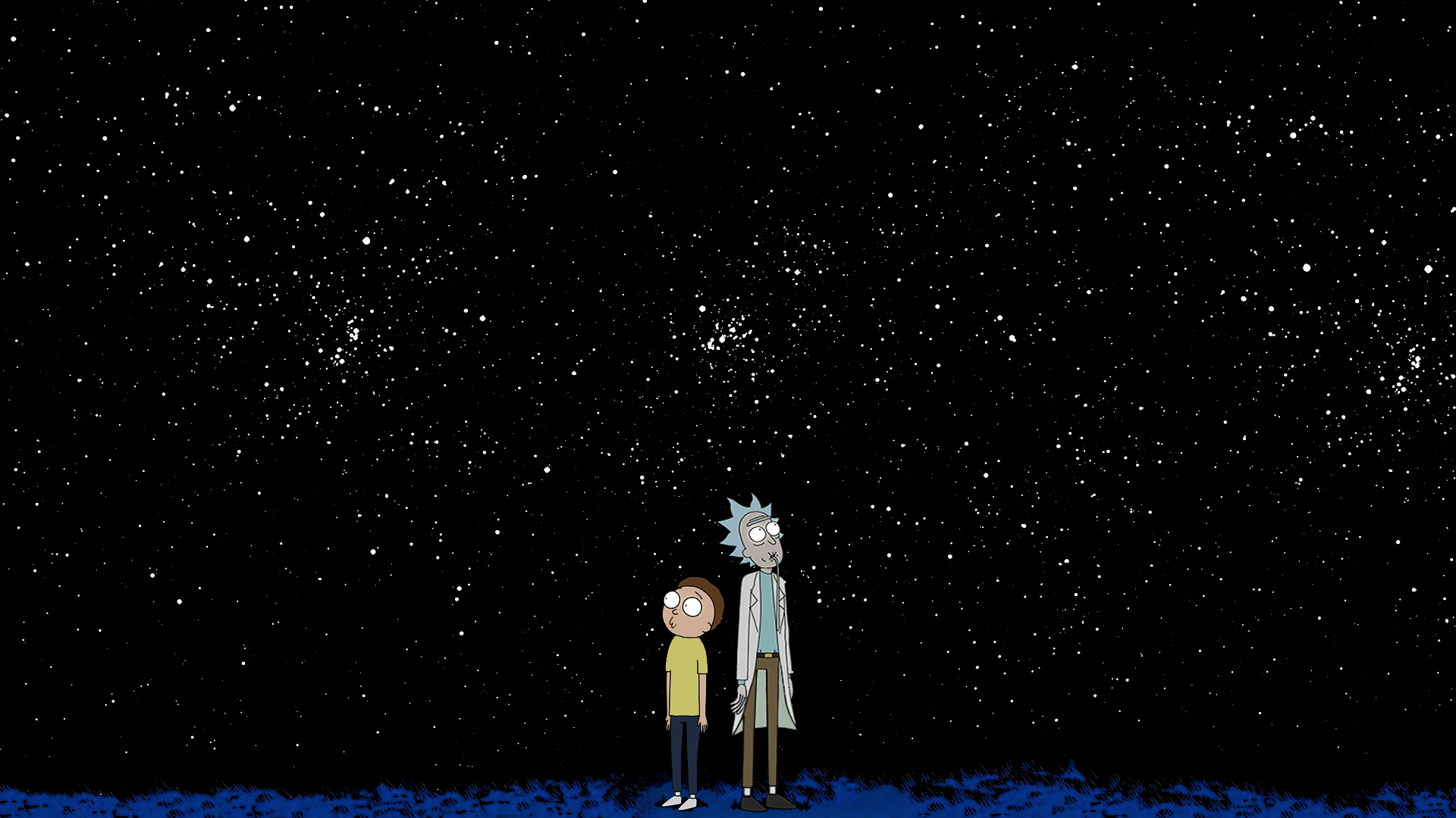 rick and morty space wallpaper 63917