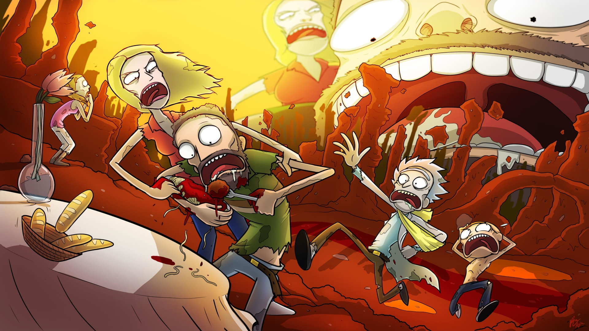 rick and morty wallpaper 63897