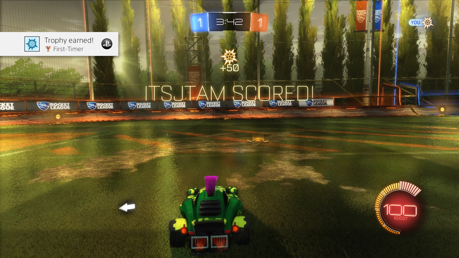 rocket league first timer wallpaper 64437