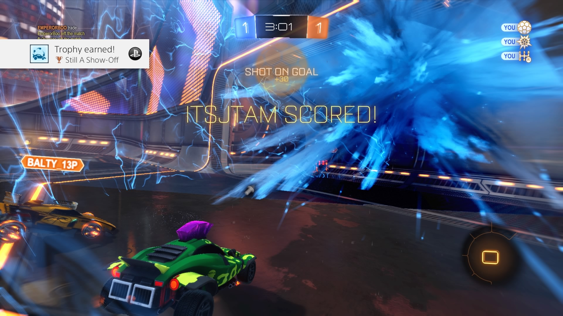 rocket league still a show off wallpaper 64443