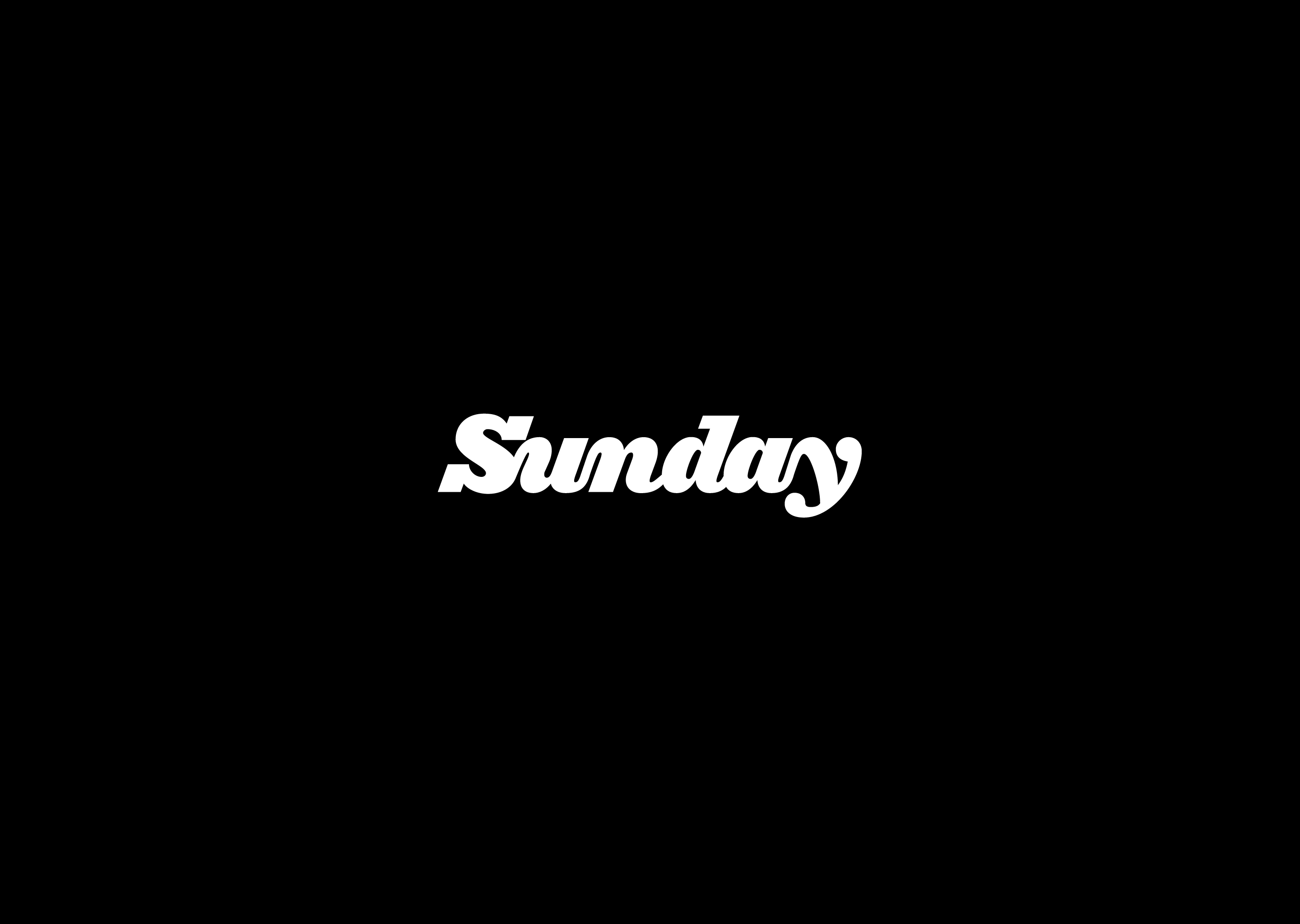 sunday typography wallpaper 64230