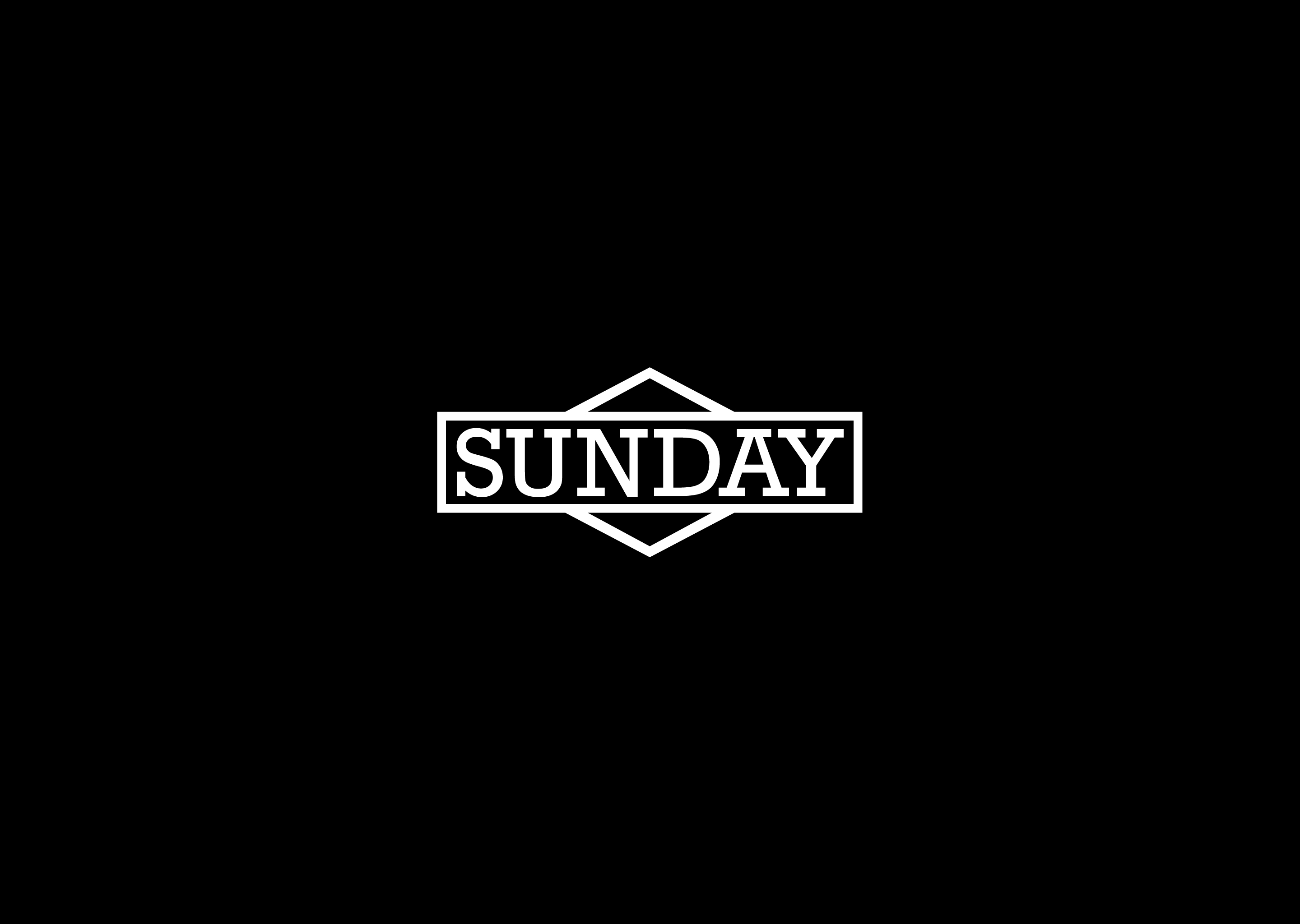 sunday typography wallpaper background 64231